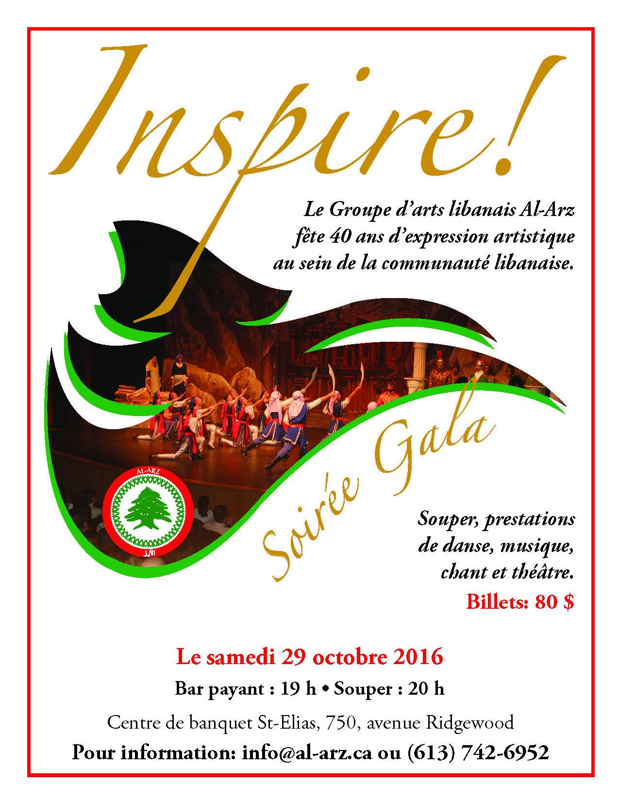 Soirée Gala – Inspire !